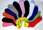 12 PAIR Womens SLOUCH Socks 12 different Colors! FREE USA SHIPPING- SUPER DEAL