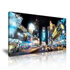 NEW YORK CITY Manhattan Time Square Canvas Framed Print 20 ~ More Size