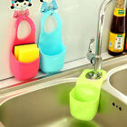 1pc Bathroom Kitchen Organizer Hanging Sink Holder Strainer Gadget Storage Box