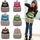 NEW Korean Fashion Lovely Women's Bag Canvas Satchel Girls' Backpack Schoolbag