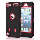 For iPod Touch 5th 6th Gen Tyre Rubber Case Shockproof Hybrid Hard Skin Cover
