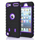 For iPod Touch 5th / 6th Gen Tyre Rubber Shockproof Hybrid Hard Case Cover Skin