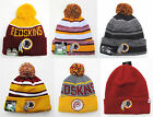 Washington Redskins Cuffed Beanie Winter Cap Hat NFL Authentic