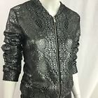 C&A Silver Lace Bomber Jacket