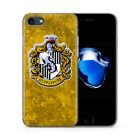 Harry Potter Crests Design Rubber Phone Case Fits For iPhone 4 5 5c 6 7 SE