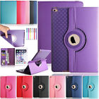 """For iPad 2 3 4/Air 2/Pro 9.7"""" 360 Rotating Smart Leather Wallet Stand Case Cover"""