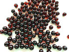 Natural Baltic Holed Amber Loose Round Beads 33 beads  about 2.8 gr 6mm beads