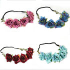 5Pcs / Lot  bride wedding wreath head flowers  corsage flower girl flower crown
