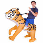 Adult Funny Inflatable Animal Tiger Fancy Dress Costume Outfit Halloween Stag Do