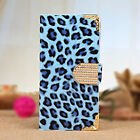 S5454 Fashionable Wallet Leopard iPhone 6 Case Flip Leather Cover with Card Hold