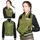 Brave Soul Ladies Team Bomber Jacket Designer Womens Nashville MA1 Baseball Coat