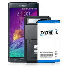 3500mAh Extra Extended Slim Battery or Charger For Samsung Galaxy Note 4 N910R4