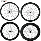 CSC  Full carbon wheels 38/50/60/88mm clincher/tubular with Novatec A291/F482SB