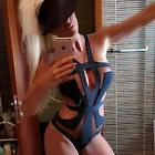 Women Swimwear Swimsuit Monokini Push Up Padded Bikini Bathing New