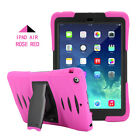Waterproof Shockproof Stand With Screen Case Cover Fr iPad 2 3 4 /Mini /Air /Pro