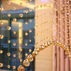 Beaded Crystal String Door Window Curtain Divider Beads Panel Home Room Amazing