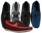 Men's Giovanni Formal Shoe Slip-On Prom Wedding Moccasin Casual Dress Work Party