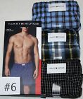 3 Pack TOMMY HILFIGER Mens Woven BOXER  S M L XL NEW Underwear $39.90