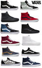 Vans Classics SK8-Hi Old Skool School Classics Authentic Mens/Women Black White
