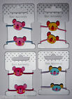 1 PAIR Girls Koala Bear HAIR BOBBLES Ponios Elastics PICK Colour & FREE Postage!