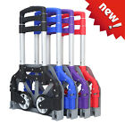 170lbs Aluminium Cart Folding Dolly Push Truck Hand Collapsible Trolley Luggage!