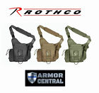 Rothco Advanced Tactical Shoulder Sling MOLLE Bag - Black or Coyote 2438 - 2638