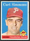 1958 Topps #404 Curt Simmons EX+ 90547