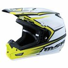 NEW MSR RACING MAV-3 SF WHITE HI-VIZ MX MOTOCROSS RACING RACE HELMET MENS ADULT