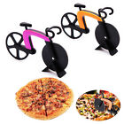 Free Shipping Creative Bicycle Shaped Pizza Cutter Slicer Stainless Steel Wheel