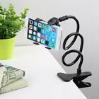 Flexible Lazy Bracket Phone Stand Clip Holder Car Bed Desk For iPhone Samsung