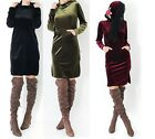 New Womens Ladies Velour Hoodie Dress Red Rose Hood Print Dress UK Sizes 8 - 14