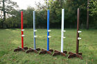 1pr (2) 6ft X-FOOT UPRIGHT WINGS - Upright Wings Inc 1pr FEI Competition Cups