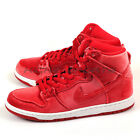 Nike Dunk High Premium SB Gym Red/Gym Red-White 313171-661 Skateboarding Shoes