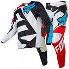NEW FOX MX 2017 Kids PeeWee 180 Motocross Jersey & Pants Outfit Nirv Red/White