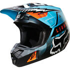 New FOX Racing MX Motocross Adult Helmet 2016 V2 Vicious Aqua Adult XL