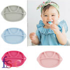 New One-piece Silicone Mat Baby Kids Suction Table Food Tray Placemat Plate