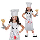 Girls Role Play Sets Chef Fancy Dress Outfit Childrens Book Week Cook Costume