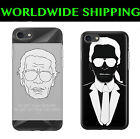 KARL LAGERFELD Fashion Trend Case Cover For Iphone 4/5/5S 6s/6 Plus 7/7Plus