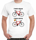I want to ride my bicycle T-shirt Queen crown Freddie Mercury cycling