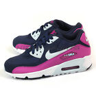 Nike Air Max 90 Mesh (GS) Midnight Navy/Blue Tint 833340-402 Youth Running Shoes