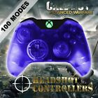 Xbox One/S Clear Blue With Green LED Rapid Fire Paddle Controller BF1-IW-GOW4
