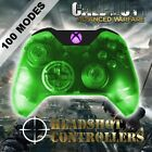 Xbox One/S Clear Green With Purple LED Rapid Fire Paddle Controller BF1-IW-GOW4