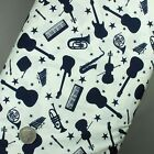 100% Cotton Fabric Musical Instruments, Notes, Novelty Print - Superior Quality