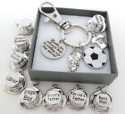 Co.Keyring - Wedding Football - Best Man Gift,Page Boy gift,Grooms brother gift