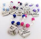 Wine glass charms - Wedding favours (1a) wedding decorations,Table decorations A