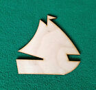 TRANSPORT BOAT SHIP YACHT - Wood OR Sticker Card Craft Shape 3,5,8,12 OR 15cm