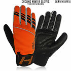 Cycling Winter Cold Weather Gloves Touch Screen Waterproof Full Finger Windproof