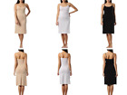 Kefali Ladies Antistatic long Strappy Fitted Round Neck Stretch Slip /Underskirt