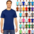 American Apparel Fine Jersey Crew Neck Cotton Tee- Short-Sleeve T-Shirt  2001