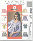 McCall's 2128 Misses' Cardigan and Top - Sewing Pattern
